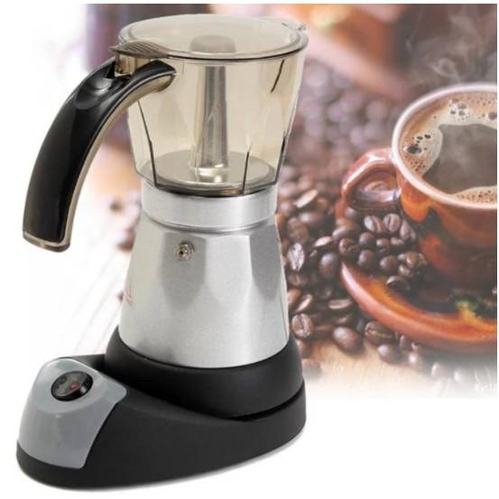 เครื่องทำกาแฟ moka pot ไฟฟ้า ****สินค้าพร้อมส่ง****