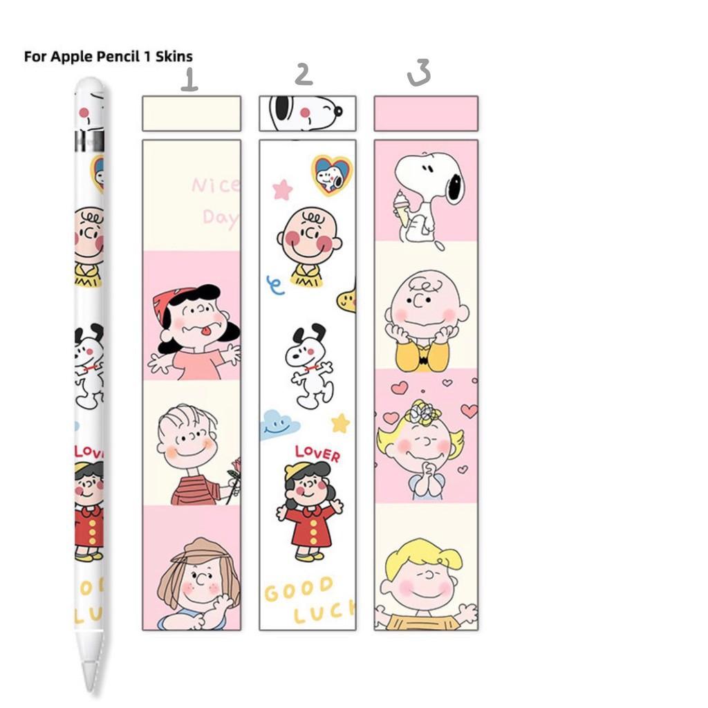 ✱○◈[ถูกที่สุด] ฟิล์มปากกา applepencil sticker รุ่นที่1/2 น่ารักๆ พร้อมโปรโมชั่น3แถม1[1] 4GCO