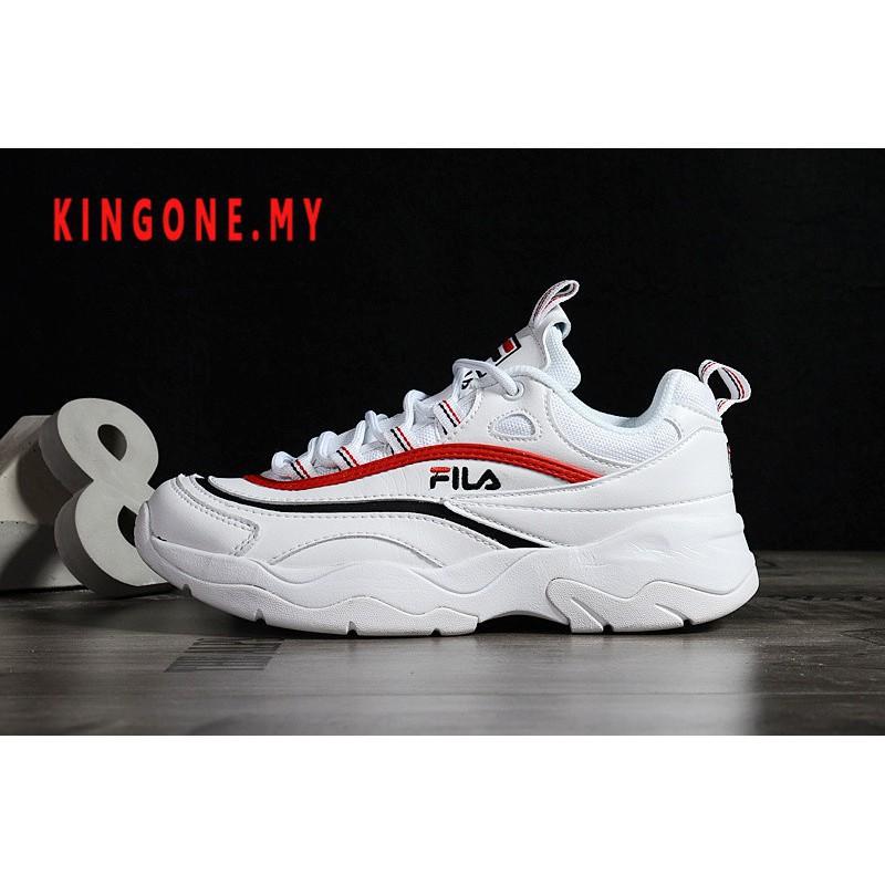☀เทรนด์☀ Original Fila Ray รองเท้าผ้าใบรองเท้าวิ่ง 1