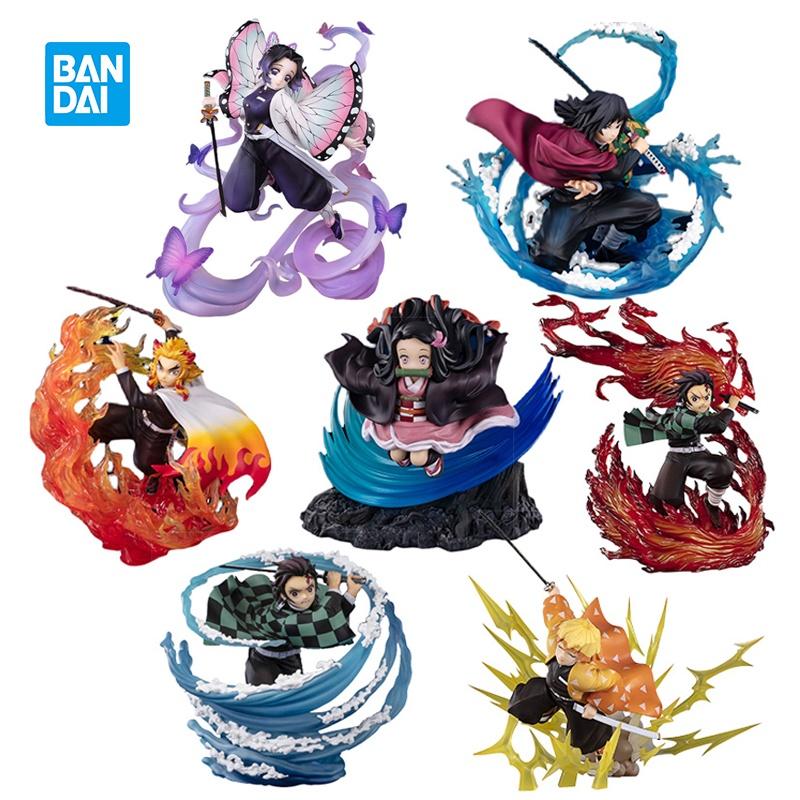 โมเดลดาบพิฆาตอสูร  ตุ๊กตาอนิเมะIn Stock Bandai Figuarts Zero Anime Demon Slayer Action Figure Kochou Shinobu Tomioka Giy