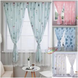 ผ้าม่าน Curtain ม่าน ม่านเวลโครม่านทึบผ้าม่านกันฝุ่น,ติดตั้งง่าย,หมัดฟรี ไม่ต้องจอก ผ้าม่าน UV สำเร็จรูป กั้นแอร์ได้ดี