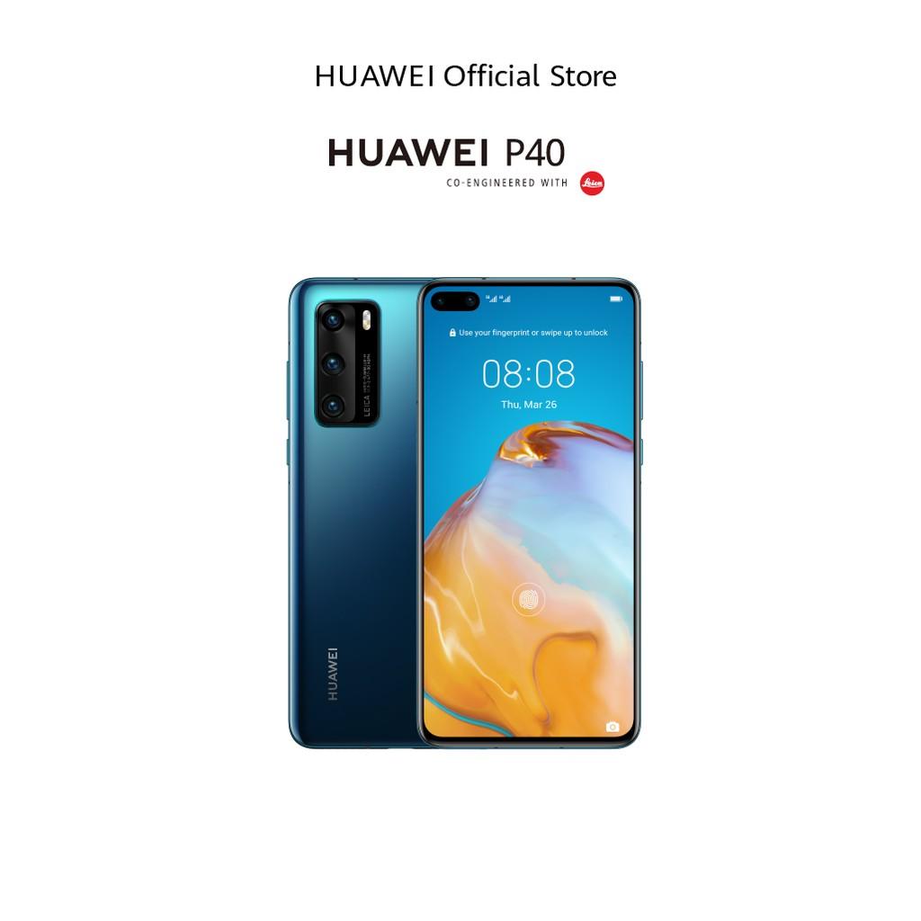 HUAWEI P40 สมาร์ทโฟน | Kirin 990 5G ถ่ายภาพด้วย AI High Quality Focus Night Mode ร้านค้าอย่างเป็นทางการ
