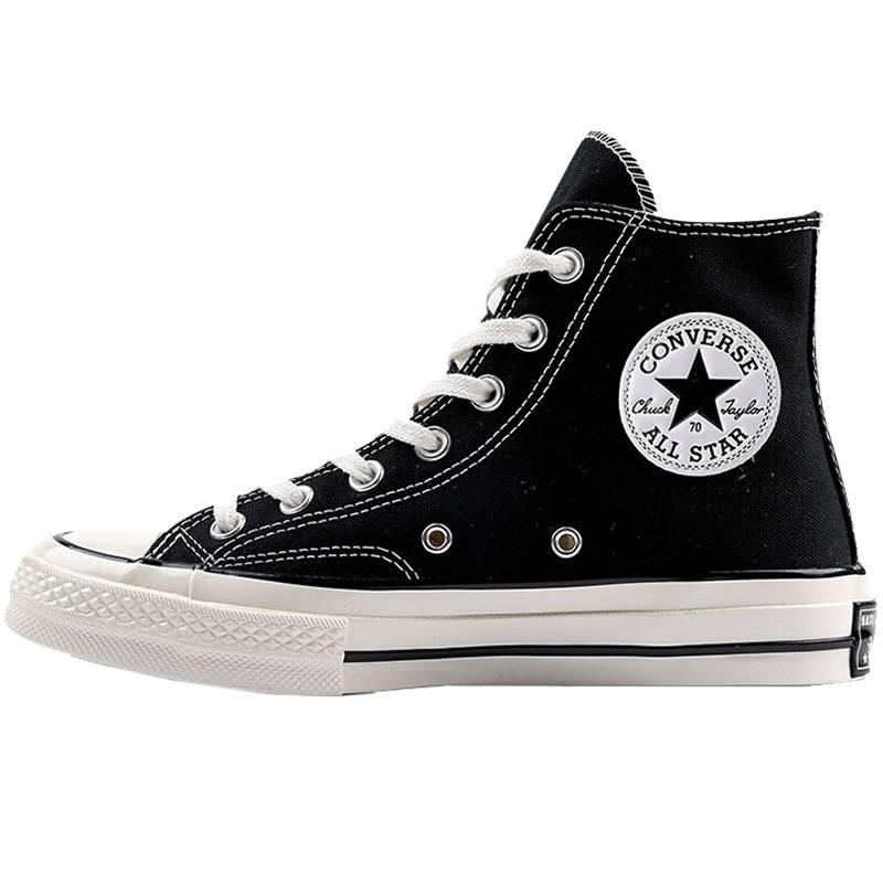 แท้จริง Converse All Star 70 Hi (Classic Repro) สีดำรองเท้า Converse Unisex Repro 70