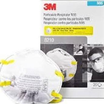ผลิตภัณฑ์ดั้งเดิม 3M 8210-N95