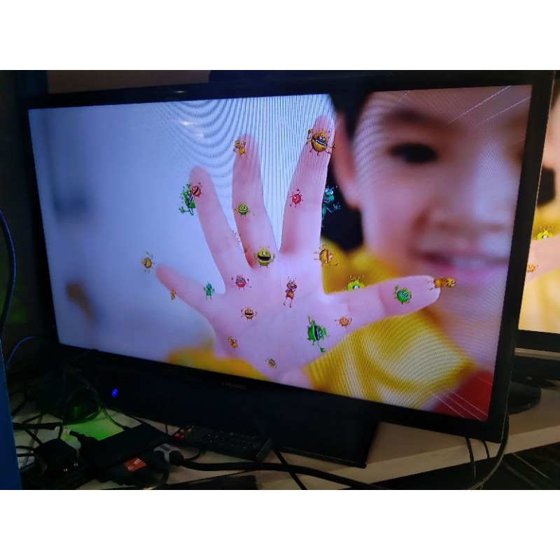 """ทีวี32""""   samsung  LED  สินค้ามือสองราคาถูก"""