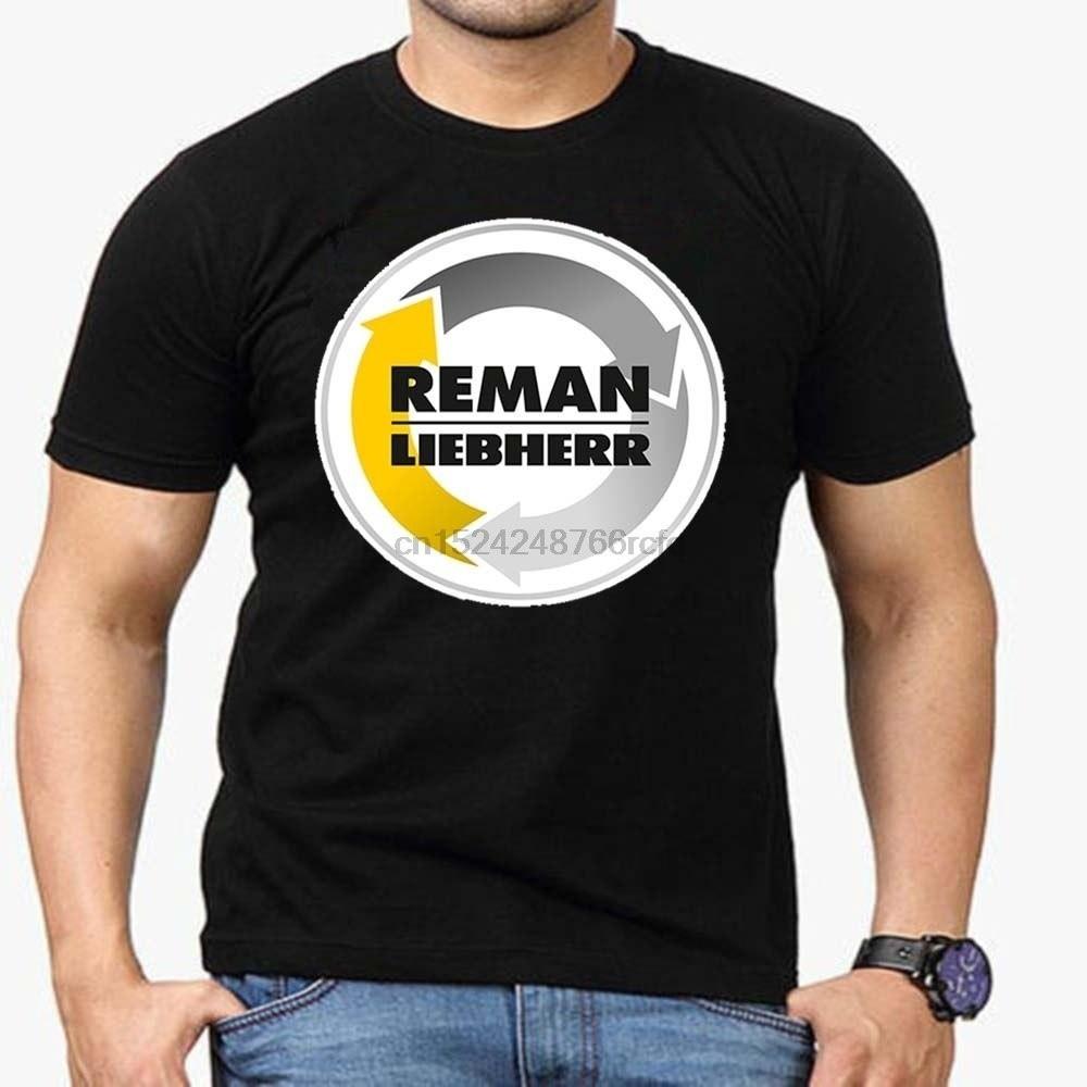 เสื้อยืดลายกราฟฟิก reman liebherr สำหรับผู้ชาย