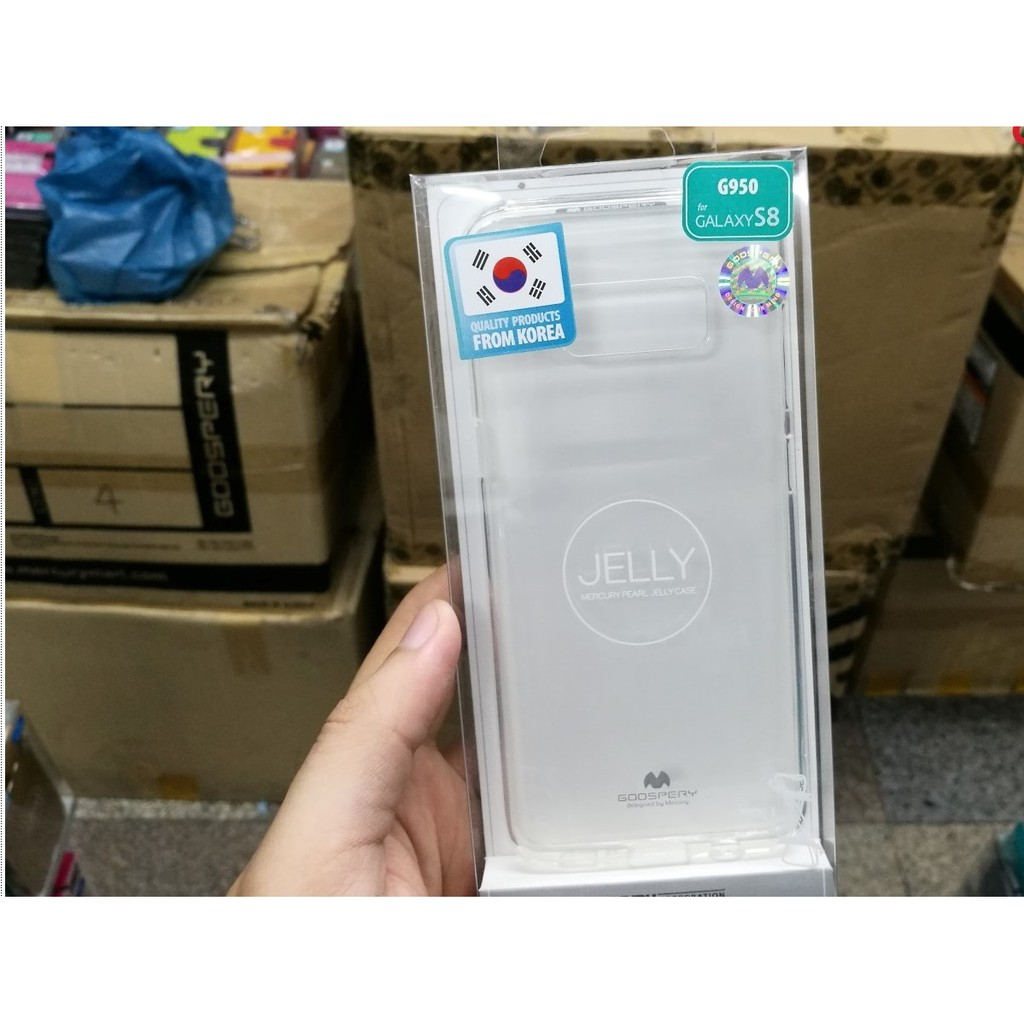 Samsung Galaxy S8 - เคสใส TPU Mercury Jelly Case แท้