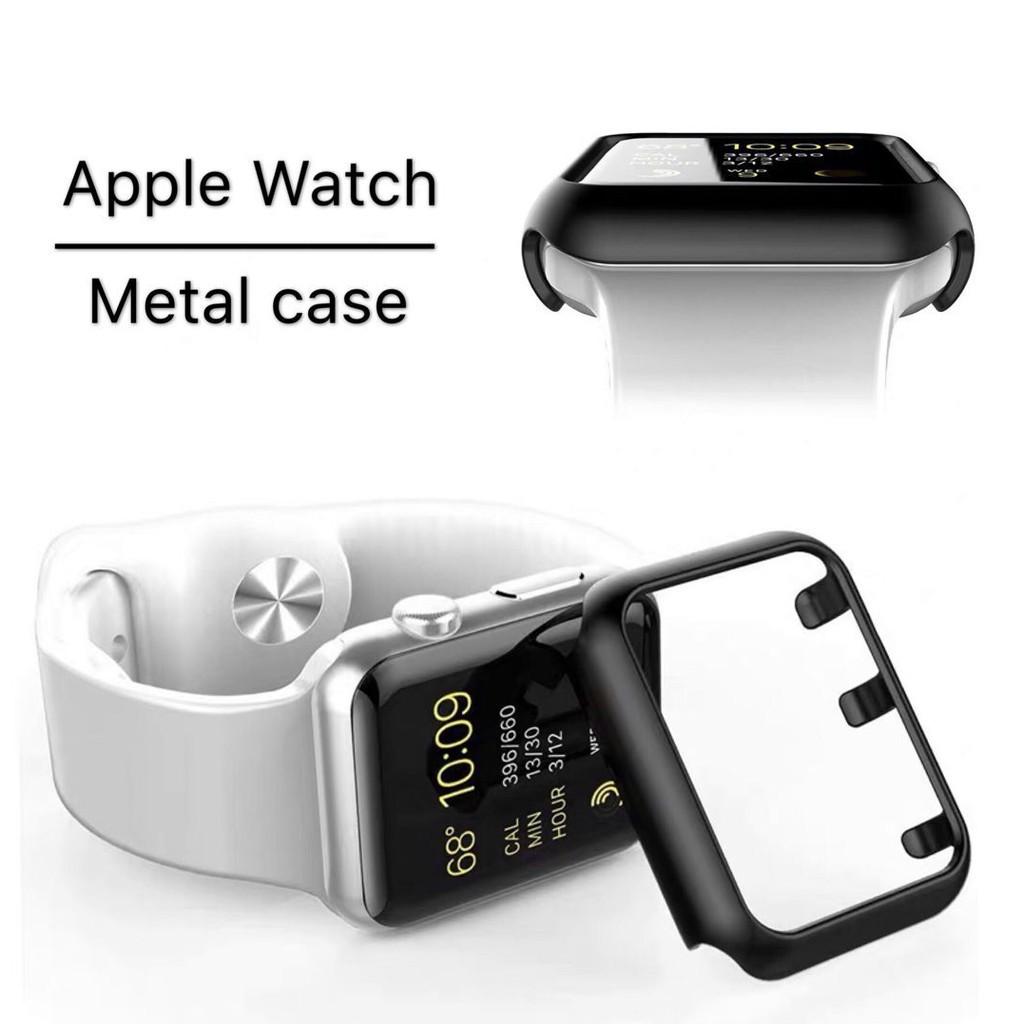 เคส Apple Watch 1 2 3 4 5 series ป้องกันโลหะ case iWatch For ขนาด 38 40 42 44 mm