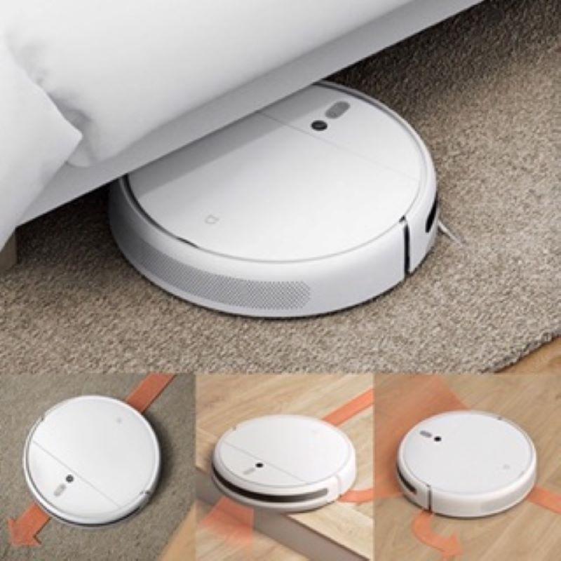 ☁▣หุ่นยนต์ดูดฝุ่นถูพื้น เสียวหมี่  Mijia Robot 1C Vacuum and Mop Cleaner เชื่อมต่อแอพ Mi Home (CN Vers