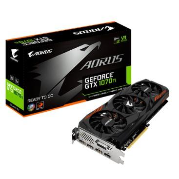 (มือสอง) Gigabyte AORUS GeForce GTX 1070Ti 8G มีประกัน Advice 04/2021