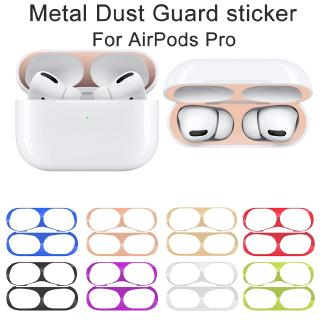 Review Metal Film Sticker AirPods Pro Airpod 3 Case Dust Ultra Thin Skin Cover Plate Dust Guard