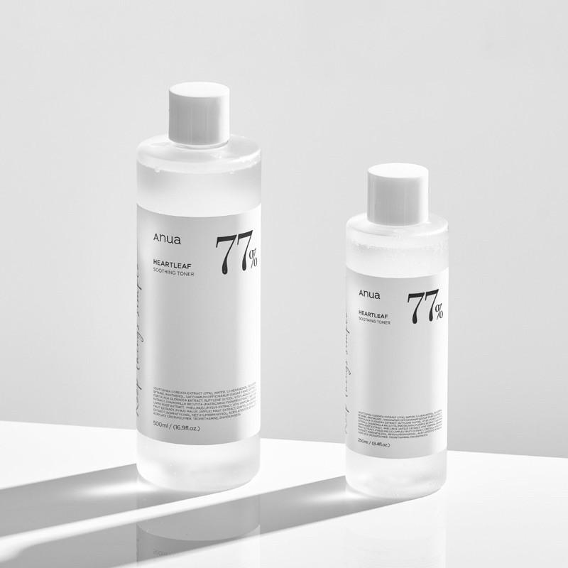 (โทนเนอร์พี่จุน) Anua Heartleaf 77% Soothing Toner Set 250 ml. + 40 ml.