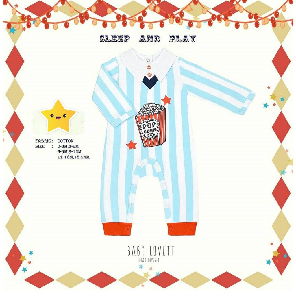 BabyLovett * The Circus Collection ep.3  Size : 18-24