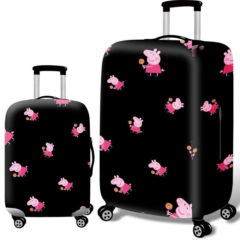【น่ารัก/แฟชั่น】 แบบผ้า ยืดหยุ่นสูถูกมาก ผ้าคลุมกระเป๋าเดินทาง 18-32 นิ้ว อุปกรณ์เสริมกระเป๋าเดินทาง