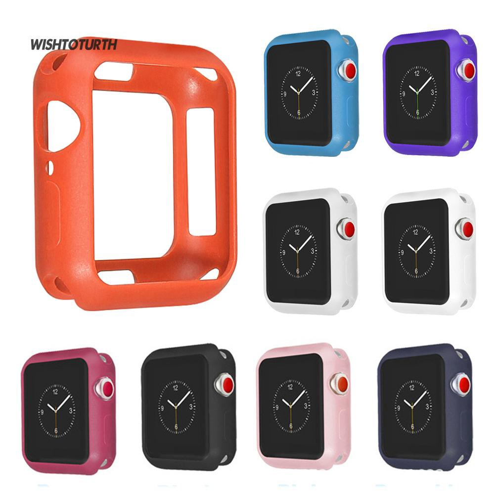 ☼WT 40/44mm Silicone Protective Wristwatch Cover Bumper Case Apple Watch 4-part2