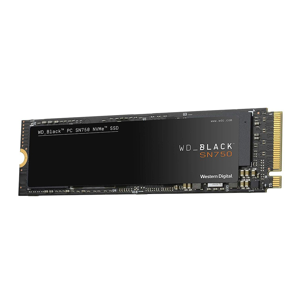 WD BLACK SN750 500GB SSD NVMe M.2 2280 (5Y) WDS500G3X0C (MS6-58) Internal Solid State Drive