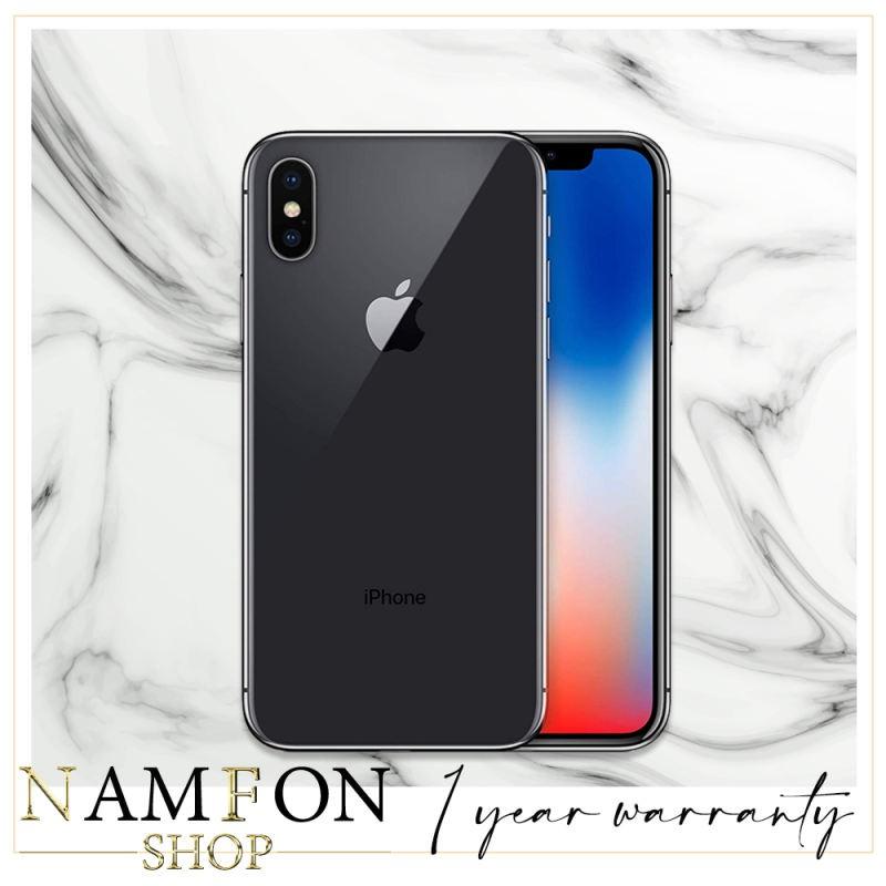 APPLE iPhone X (64GB) เครื่องนอกแท้ [ประกัน 1 ปี]