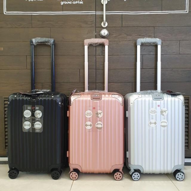 """กระเป๋าเดินทางยี่ห้อ saint+2009 แบบซิปล็อค TSA  ขนาด 20""""24""""28"""""""