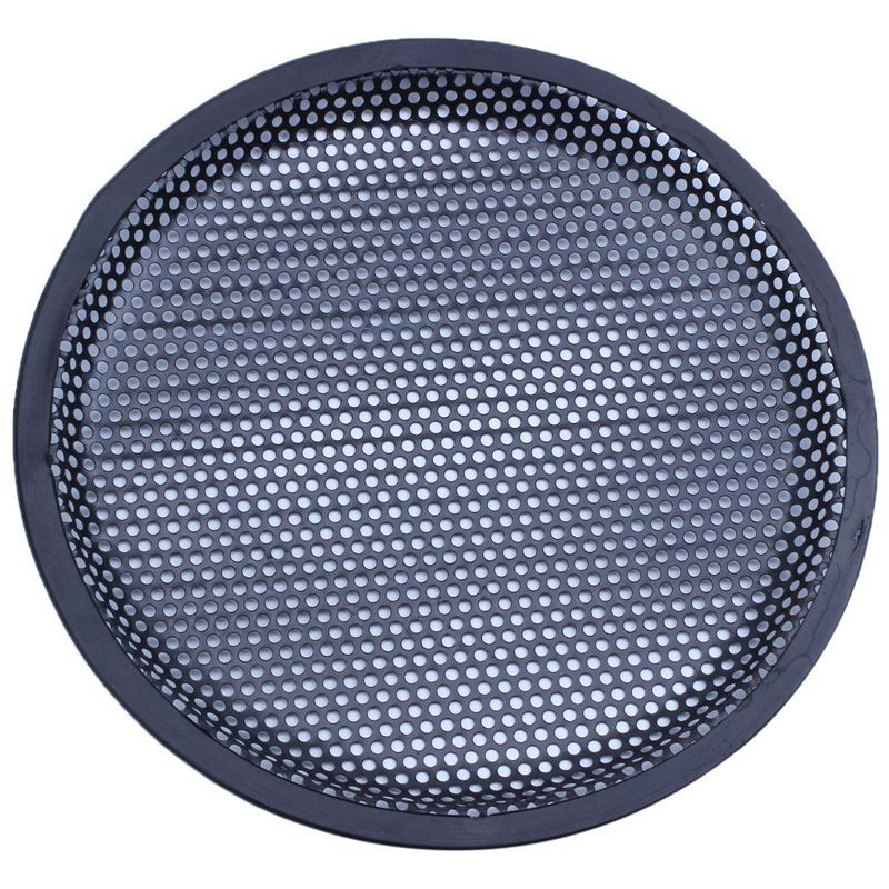 """1x 4/"""" Inch Speaker Grill Metal Decorative Protection Circle Car Audio Subwoofer"""