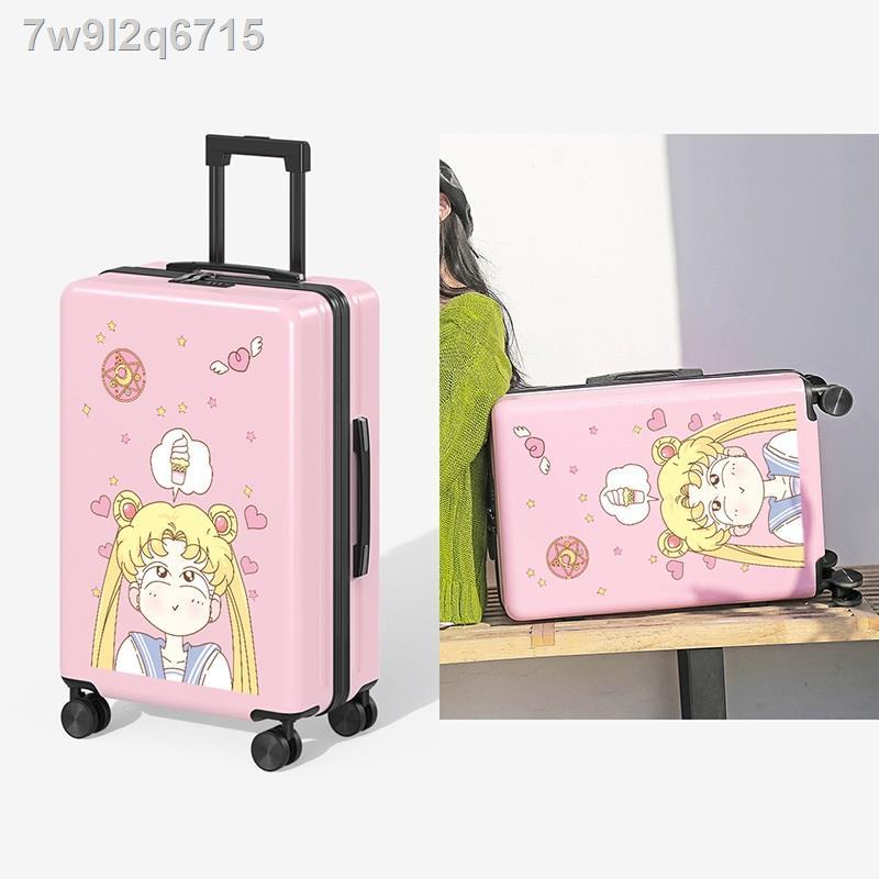 ◊✗✁กระเป๋าเดินทางในเน็ต ดาราสาว กระเป๋าใส่รถเข็นน่ารักขนาด 24 นิ้ว เล็กและสด กระเป๋าเดินทางน้ำหนักเบา 20 ใบ ซองหนังใส่รห