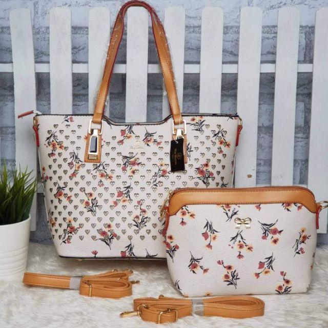 กระเป๋าแฟชั่น Blue Blossom