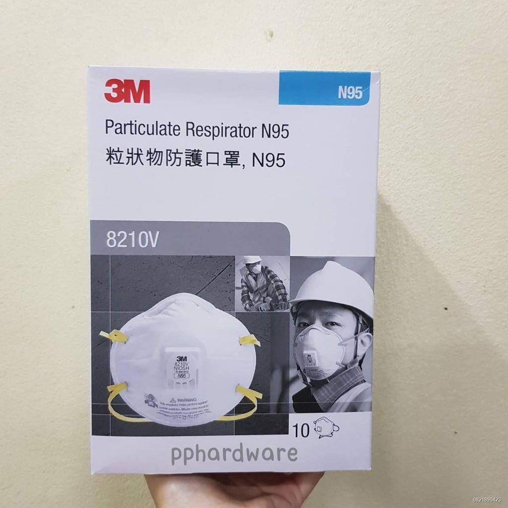 ✼◐3M N95 8210V with valve