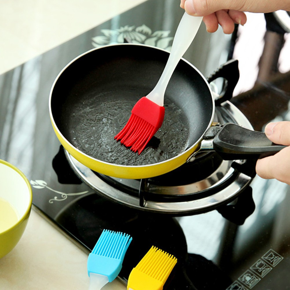 Bread Oil Cream Tool Baking BBQ Accessories Cook Tool Separable Scrub