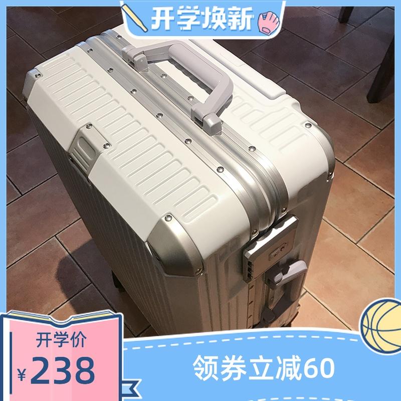 กระเป๋าเดินทางล้อลาก CODกระเป๋าเดินทางผู้หญิงใบเล็ก20-นิ้วinsสุทธิกระเป๋าหนังสีแดงกระเป๋าลากชาย24กล่องเดินทาง28Lockbox ล