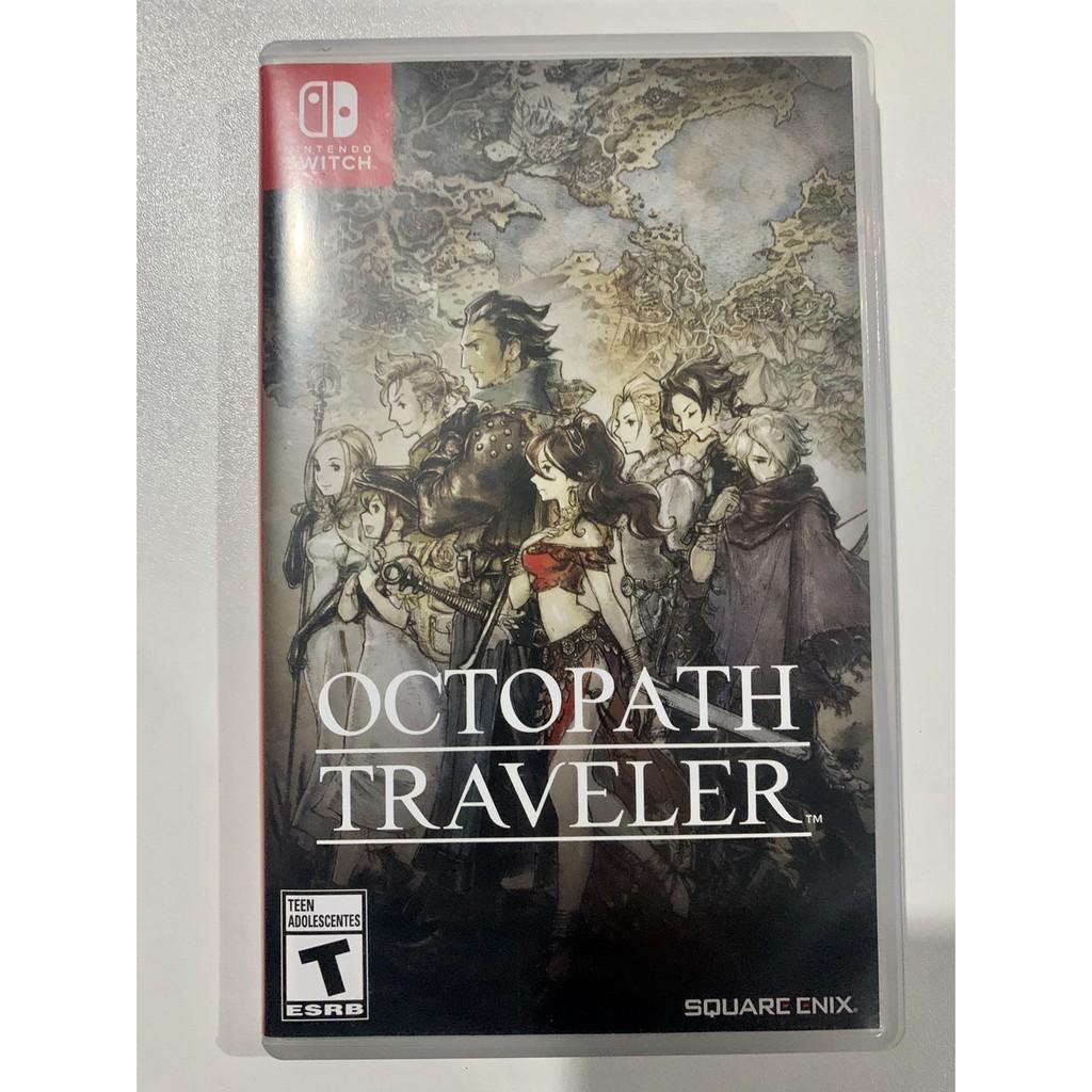 แผ่นเกมส์ Octopath traveler มือ2และมือสอง Nintendoswitch game มือสอง