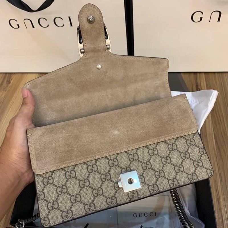 กระเป๋าสะพาย Gucci Dionysus  Grad Original  Size 25CM หนังเเท้สวยมาก