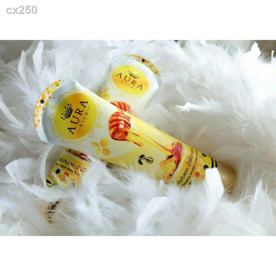 ขายดีเป็นเทน้ำเทท่า ♀❈✨ของแท้⚡ (ราคาเท)โลชั่นกันแดด น้ำผึ้งทองคำ By Aura Rich .