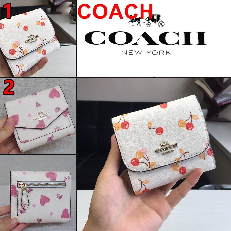 COACH F25974 F76317 กระเป๋าสตางค์ กระเป๋าสตางค์ผู้หญิง กระเป๋าสั้น กระเป๋าสตางค์ใบสั้น กระเป๋าตัง กระเป๋าใส่บัตร