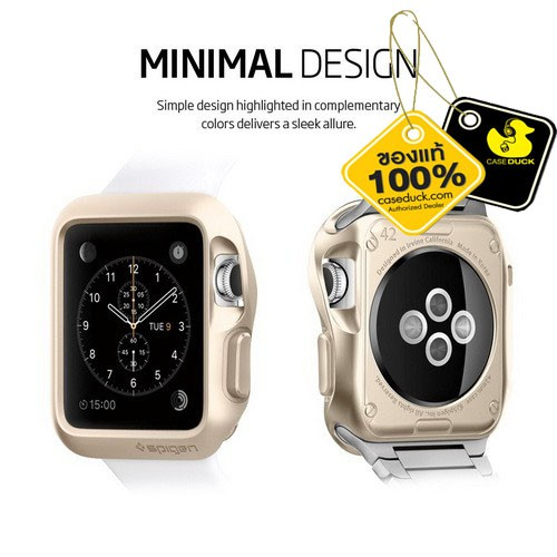 Apple Watch (38/42 mm.) Spigen Slim Armor Case