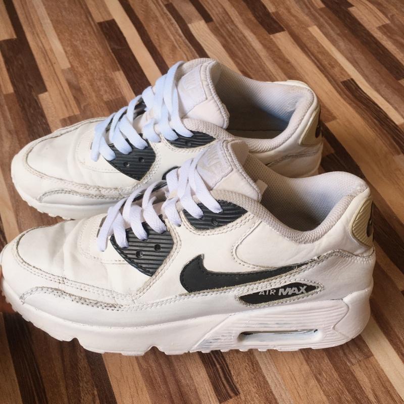 ❥ Nike AIR MAX 90 LTR (GS) 💯🔥 มือสอง ราคาถูก พร้อมส่ง สภาพตามในรูป ขอคนรับได้