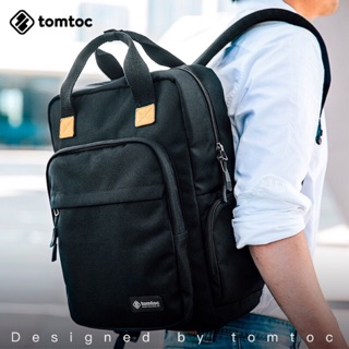 Review tomtoc bag for Laptop (charged & backpack)
