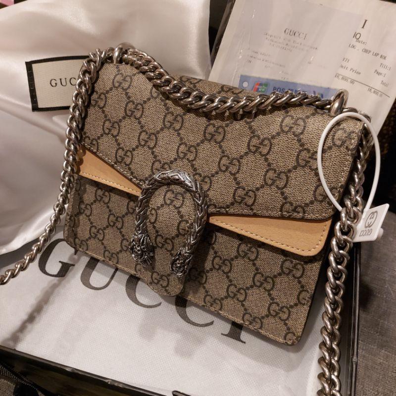 กุชชี่ไดโอGucci Dionysus mini Bag Hi-end1.1
