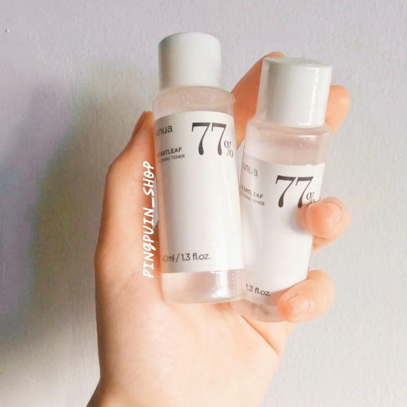 (🐳แท้/พร้อมส่ง)Anua heartleaf 77% soothing toner 40 ml โทนเนอร์พี่จุน