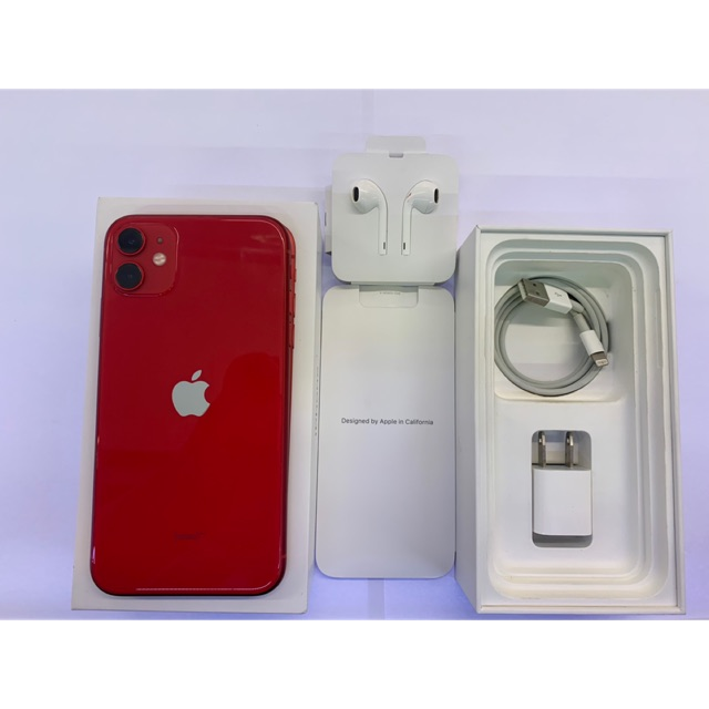 iPhone 11 Red 128g มือสอง