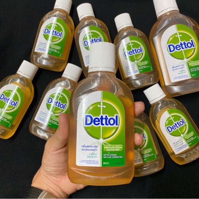 Dettol น้ำยาฆ่าเชื้อเดทตอล