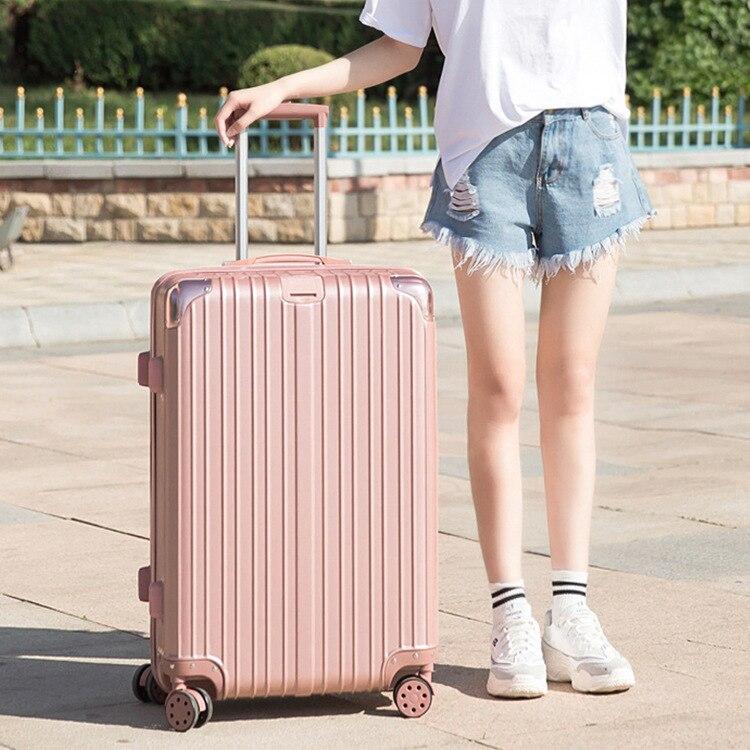 กระเป๋าเดินทาง ล้อสากล กระเป๋าเดินทาง กระเป๋าลาก 20-นิ้ว ขึ้นเครื่อง กระเป๋าเดินทาง