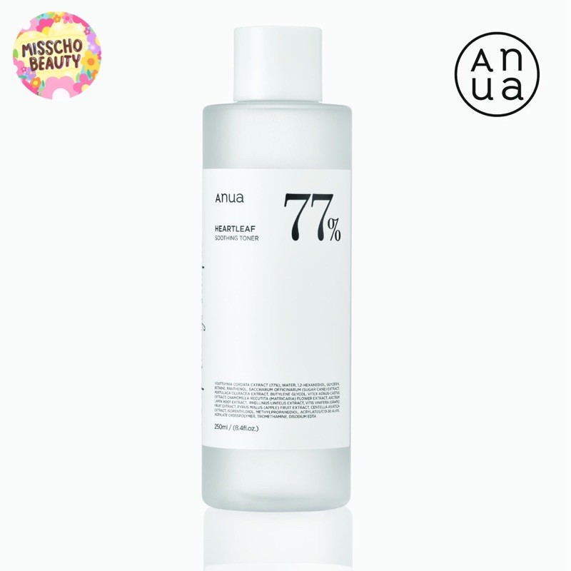 ANUA HEARTLEAF 77% SOOTHING TONER 250 ml.