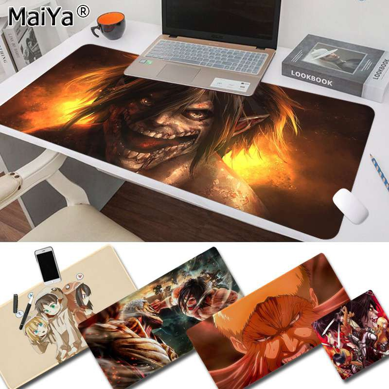 Attack on Titan Anime Vintage Cool large/small Pad to Mouse pad Game Size for Speed Version Game Keyboard Pad for Gamer