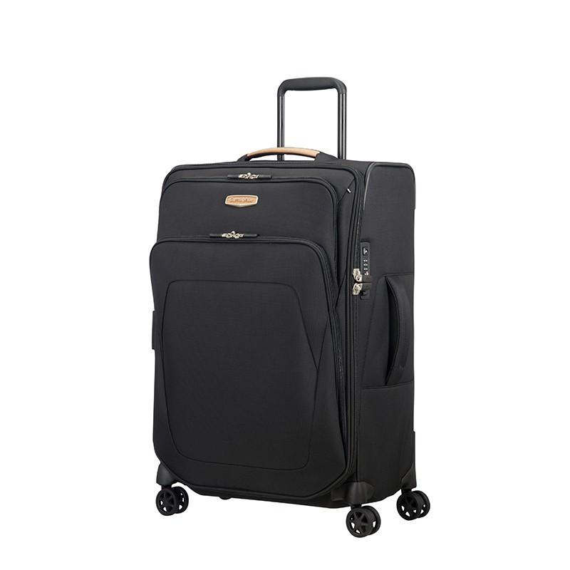 SAMSONITE กระเป๋าเดินทางล้อลาก รุ่น SPARK SNG ECO ขนาด 24 นิ้ว SOFTSIDE SPINNER 67/24 EXP TSA LOCK