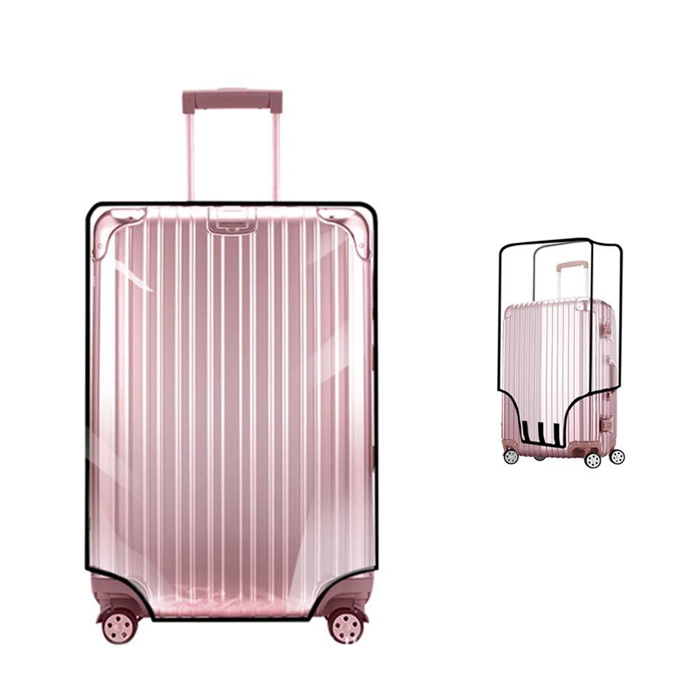 ผ้าคลุมกระเป๋าเดินทาง Pvc สีใส 20 22 24 26 28 30 นิ้ว