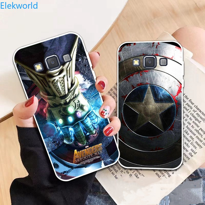 YB-Samsung A3 A5 A6 A7 A8 A9 Star Pro Plus E5 E7 2016 2017 2018 Spiderman pattern-6 Soft Silicon Case Cover