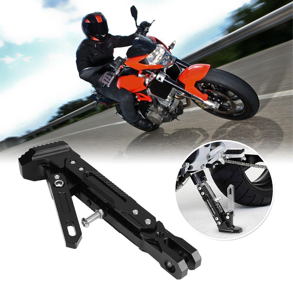 Adjustable Motorcycle Side Kickstand Universal Scooter Kickstand Side