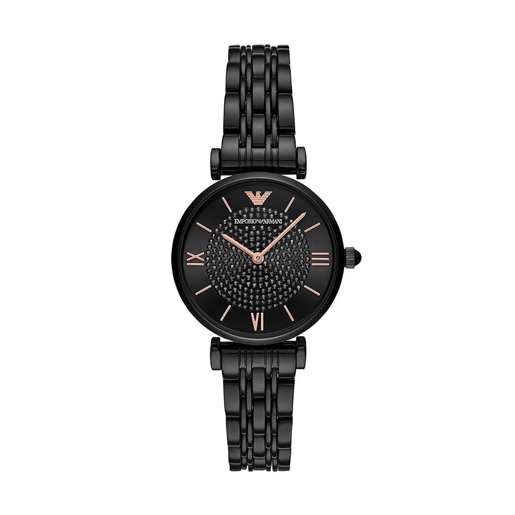 Emporio Armani Analog Black Dial Women's Watch-AR11245