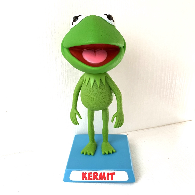 Popular Street Fashion Kermit the Frog Action Figure Toy Garage Kit