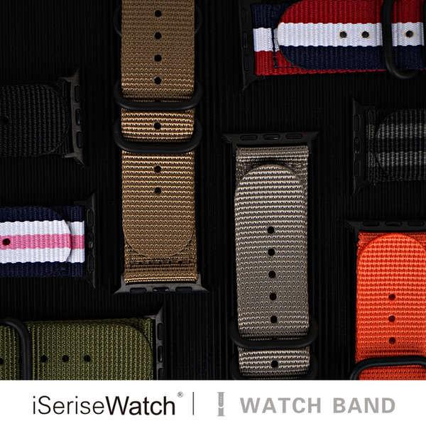 สาย applewatch ใช้ได้กับ Apple Watch รุ่นที่ 5 iwatch สาย se หญิง applewatch6 สายสีรุ้งสร้างสรรค์ Apple Watch หนึ่งแถบตั