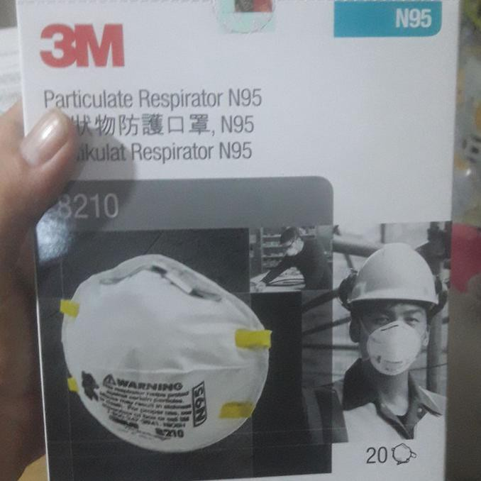 3M N95 8210 รองเท้าผ้าใบลํา | หน้ากากเพื่อความปลอดภัย